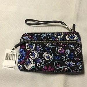 NWT iconic pouch wristlet
